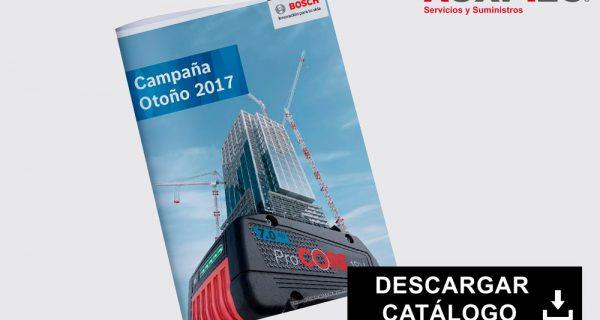 Nuevo Catalogo Otoño Bosch