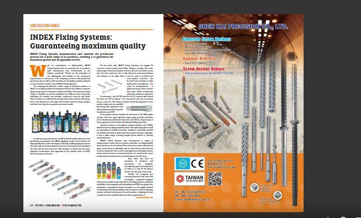 Publicación En La Revista Fastener + Fixing Magazine