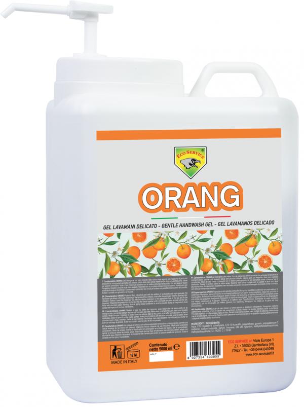 Lavamanos Orange